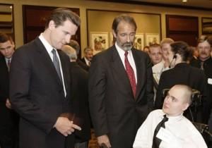 Gavin Newsom, Richard Ruggieri, Brandon Maxfield