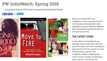 Publishers Weekly features Move To Fire